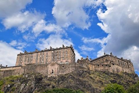 Edinbugh castle (c) Pixabay