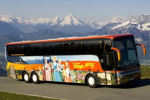 Original Sound of Music Tour® - Tourbus 3 (c) Salzburg Panorama Tours