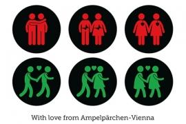 Ampelpärchen Rocks Shop - Postkarte